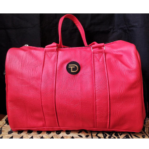 Red Bag With A Shoe and Water Compartment